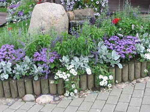 Ландшафтный дизайн цветников своими руками