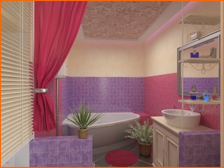 Дизайн ванной пвх