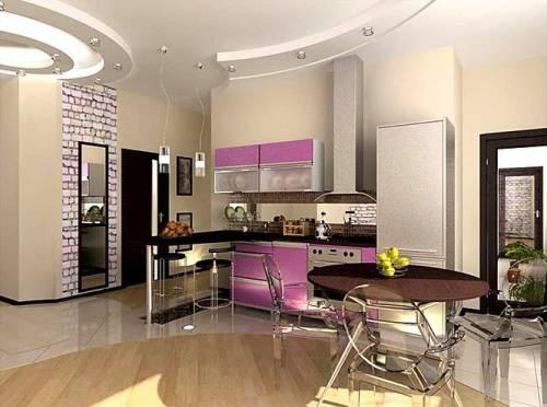 Проект кухни столовой дизайн проект