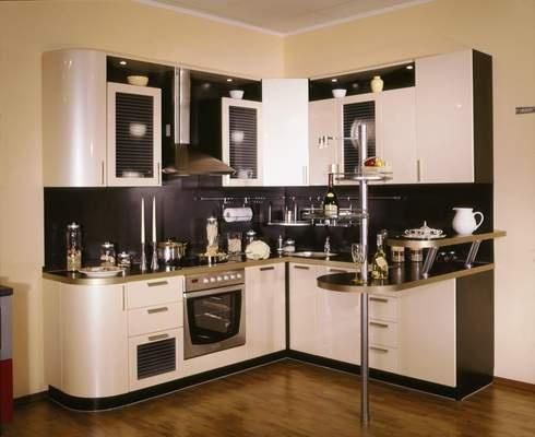 Дизайн штор на кухне фото