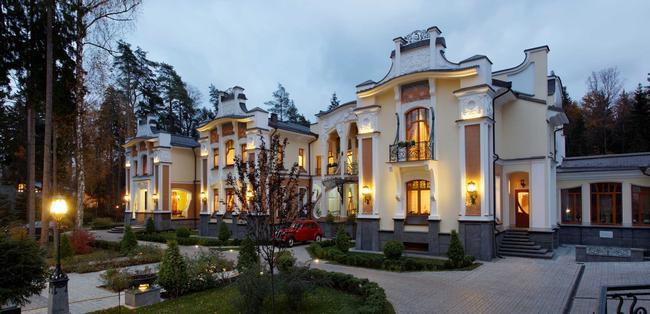 Дома в стиле модерн 135935463