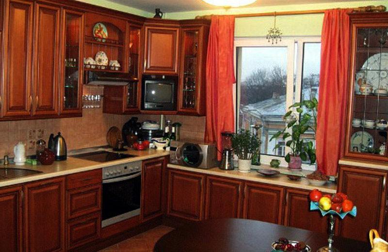 Дизайны кухни 3 на 4