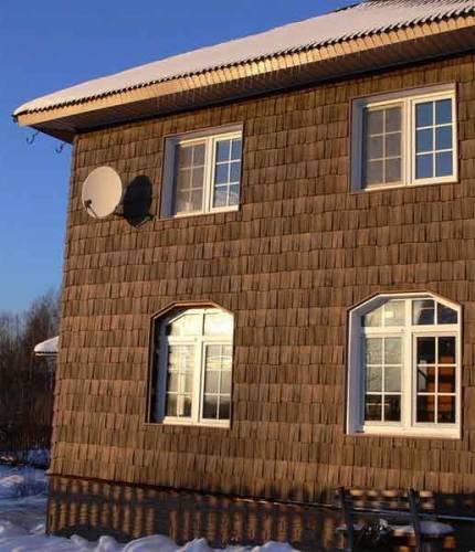 Как оригинально обшить дом
