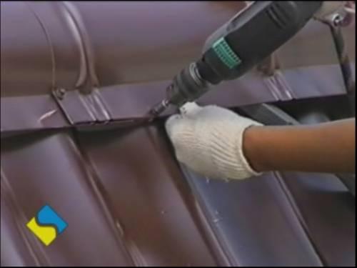 Своими руками перекрыть крышу металлочерепицей