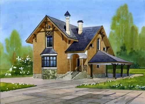 Строительство дома с мансардой своими руками
